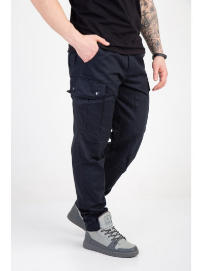 Купить Мужские штаны-карго тёмно синие