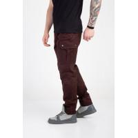 Мужские штаны-карго коричневые