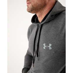 Мужское весеннее худи 2103 тёмно серого цвета Under logo