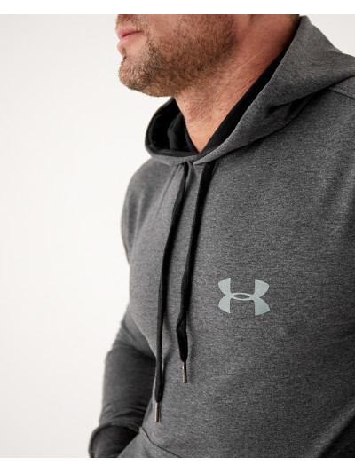 Купить Мужское весеннее худи 2103 тёмно серого цвета Under logo