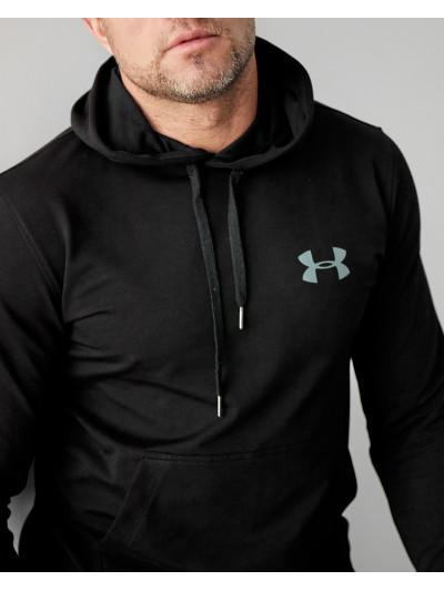 Купить Мужское весеннее худи 2103 Under logo чёрного цвета