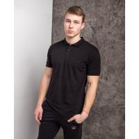 Мужская футболка Polo MYZ 5178 black