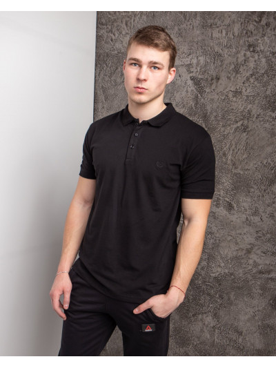 Купить Мужская футболка Polo MYZ 5178 black