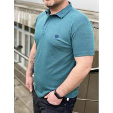 Мужская футболка Polo MYZ 5202  green