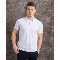 Мужская футболка Polo MYZ 5178 white