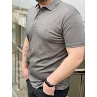 Мужская футболка Polo MYZ 5202 grey