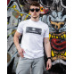 Мужская трикотажная футболка 2021 PHILIP PLEIN белого цвета