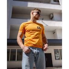 Мужская трикотажная футболка 2026 Spirit горчичного цвета