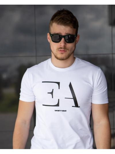 Купить Мужская футболка из хлопка 2031 белая
