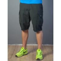 Мужские шорты-карго 1828 чёрные