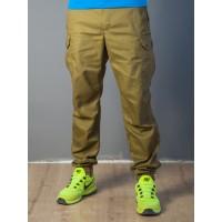 Мужские штаны-карго 1828 коричневые