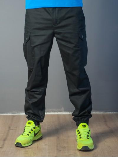 Мужские штаны-карго 1828 чёрные