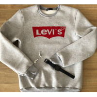 Тёплый мужской свитшот LEVI'S в цвете серый меланж