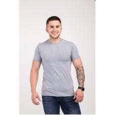Мужская футболка из стрейч-хлопка 2012 (1812) без принта
