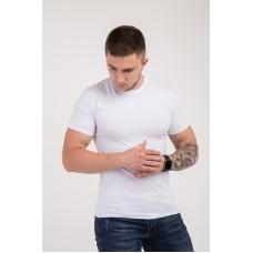 Мужская футболка  из стрейч-хлопка 2012(1812) без принта